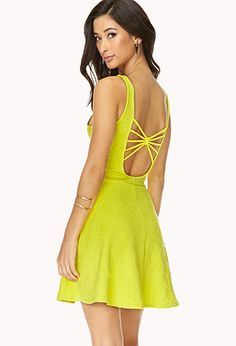 Down-To-Earth Skater Dress | FOREVER 21 - 2000063284