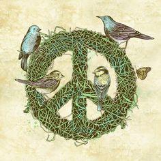 (via Pinzellades al món: Il·lustracions per la Pau i la No-violència / Ilustraciones por la Paz y la No Violencia / Illustrations for Peace and Nonviolence)
