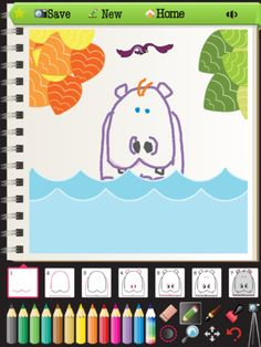 Butt Art – Kids Learn to Draw Zoo Animals Step-by-Step