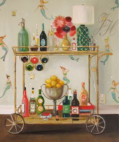 'Barmaids' By Janet Hill 2015