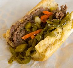 Chicago Italian Beef Sandwich - I want to learn how to make these and surprise my hubbs who grew up eating these while visiting relatives on the South side of Chicago.  www.amazingribs.com