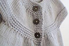 Petites broutilles robe tricot - 1