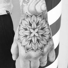 Mandala Tattoo on the hand Tattoo Portfolio, Mandala Tattoo, Multimedia, Tattoos, Tatuajes, Tattoo, Japanese Tattoos, A Tattoo, Tattoo Designs