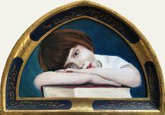 Mona Lisa, Original Art, Paintings, Landscape, Portrait, Artwork, Scenery, Work Of Art, Paint