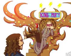 Thranduil the Party King