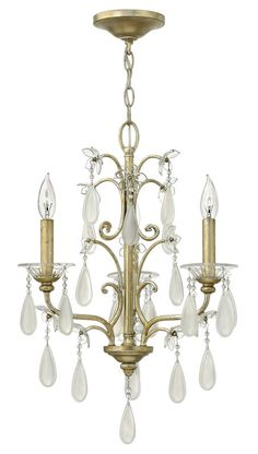 View the Fredrick Ramond FR40313 3 Light 1 Tier Candle Style Crystal Accent Chandelier from the Francesca Collection at Build.com.