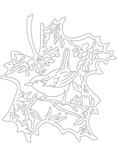 Christmas Wood Crafts, Fall Crafts, Kirigami, Hobbies And Crafts, Crafts To Make, Diy Paper, Paper Crafts, Coloring Books, Coloring Pages