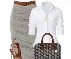 Love the white, gray, and brown