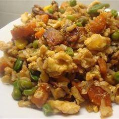 Easy pork fried rice @ allrecipes.co.uk