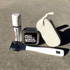 WODshop.com - WOD Repair Lotion | Essentials Kit, $23.99 (http://www.wodshop.com/wod-repair-lotion-essentials-kit/)