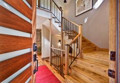 Staircase designed by MacPherson Construction and Design