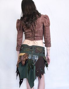 Tatttered and Layered Skirt