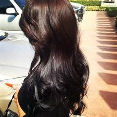 reverse ombre brown to black - - Yahoo Image Search Results