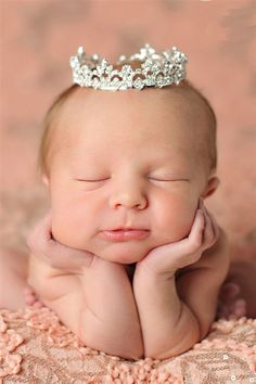 A lovely pose for a daughter (with Enchanted Shimmer - Sophia Rhinestone Crown Fall 2013)