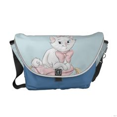 Shop Marie on Pillow Messenger Bag created by OtherDisneyBrands. Duchess Aristocats, Marie Aristocats, Cute Bags, Girls Be Like, Beautiful Bags, Travel Bag, Bag Making, Bag Accessories, Purses And Bags
