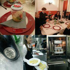 #baccalà  in #vasocottura  e #bollicine    #dAraprì  #palazzodaraprì