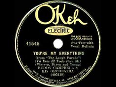 1931 Ben Selvin (as Buddy Campbell) - You're My Everything (Paul Small, ...