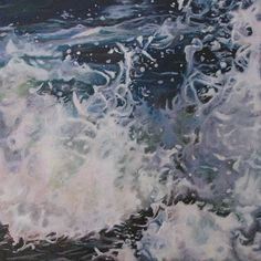Mandy Lake, Rupture, oil on canvas, 2014 Lake Painting, Oil On Canvas, Abstract, Gallery, Artwork, Paintings, Image, Summary, Work Of Art