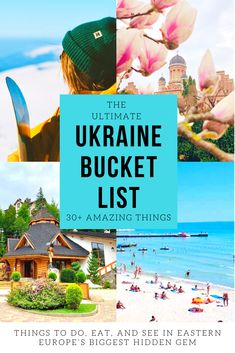 What are the best things to do in Ukraine? Check out this ultimate Ukraine bucket list! I'll show you fun things to do, see, try, and amazing hidden gems. European Travel Tips, Europe Travel Guide, European Vacation, European Destination, Travel Abroad, Budget Travel, Travel Ideas, Backpacking Europe, Travel To Ukraine
