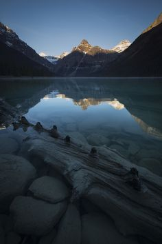Forgotten Gem - Mistaya Lake sees very few visitors and has become a sort of sanctuary over the years. When much of Banff National Park is bustling, Mistaya retains its peaceful feel. It'll be perhaps months before someone visits again...