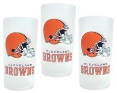 Cleveland Browns 3 Piece Tumbler Set *** Learn more by visiting the image link.