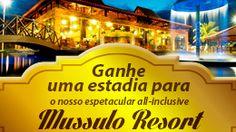 Para agradecer a fidelidade dos nossos clientes, estamos oferecendo como prêmio, uma hospedagem de 3 noites no nosso incrivel all-inclusive Mussulo Resort em Conde, Paraíba.