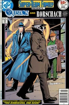 Super-Team Family: The Lost Issues!: The Question and Rorschach
