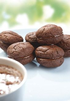 chocolate coconut delights from that kiwi staple, the edmonds cook book. New Zealand Food And Drink, Biscuit Cookies, Brownie Cookies, Kiwi, Sweet Dreams, Fudge, Brownies, Biscuits, Coconut