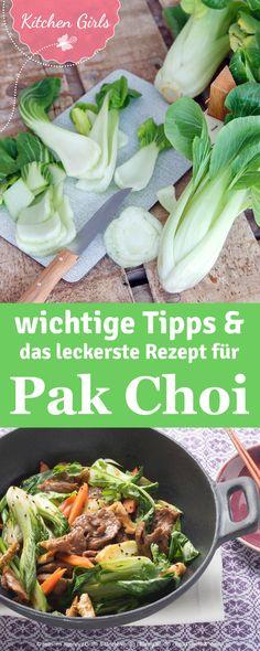 Habt ihr schon mal mit Pak Choi gekocht? Es ist das schnellste Gemüse für die…