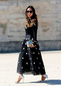 More Paris Fashion Week Street Style, s/s 2015 | Fashion, Trends, Beauty Tips & Celebrity Style Magazine | ELLE UK