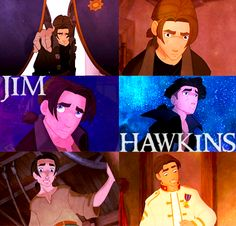 Jim from Treasure Planet - played by Joseph Gordon Levitt