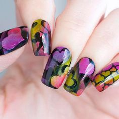 Super Easy Aero Puffing Nail Art Tutorials To Do At Home