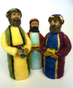 Wow! These nativity sets are beautiful!