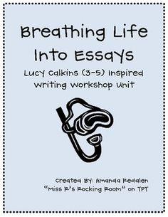 lucy caulkins writing workshop
