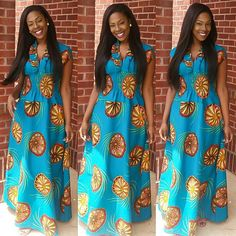 Creative Ankara Gown Design - DeZango Fashion Zone - Ankara Design ~African fashion, Ankara, kitenge, African women dresses, African prints, Braids, Nigerian wedding, Ghanaian fashion, African wedding ~DKK