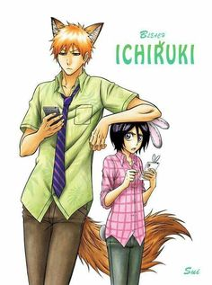 Bleach x Zootopia crossover - IchiRuki