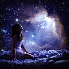 vrouw-bed-sterren