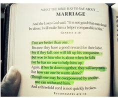 Bible Verses For Marriage On Pinterest