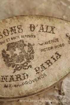 Vintage French Box | Brocante Webshop