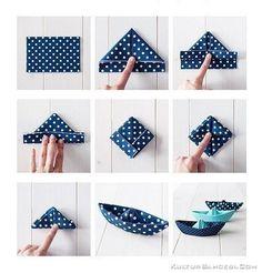 Kağıttan Gemi Yapımı – Origami