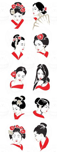 Geisha ❣Julianne McPeters❣ no pin limits - . Japanese Art, Character Design, Japanese Culture, Sketch Book, Art Drawings, Geisha, Drawings, Art, Geisha Art