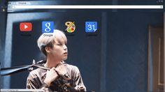 Park Jimin WINGS Chrome Theme - ThemeBeta