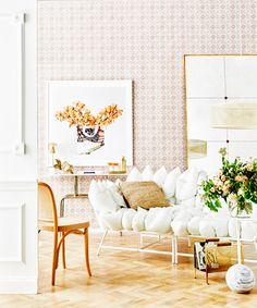 $600 IKEA PS 2017 sofa styled three ways by real living. Photography: Kristina Soljo   Styling: Corina Koch   Story: real living