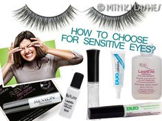 Learn how to choose the best false eyelash glue for sensitive eyes. We examine 4 most common allergenic cosmetic ingredients in eyelash adhesives to avoid!