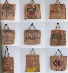 Japanese Craft Book | Handmade Jute Linen Bags