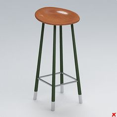 turbosquid. stool.