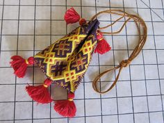 German Brick Stitch Embroidery