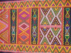 Vintage authentic kilim tribal Algerian, handmade Carpet, ethnic alfombras, tapis berbère, FREE shiping 11,1 x 2,5 feets, 337 cm x 74,5 cm