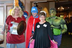 Physicians and leaders by day – superheroes by night. Mayo Clinic Health System honored volunteers in Cannon Falls, Lake City and Red Wing, Minn. during National Volunteer Week, April 12-18, 2015 at a recognition dinner. Together we celebrate our real superheroes, our wonderful volunteers!