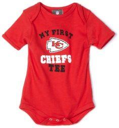NFL Kansas City Chiefs My First Tee Onesie Infant/Toddler Boys' Reebok. $8.41